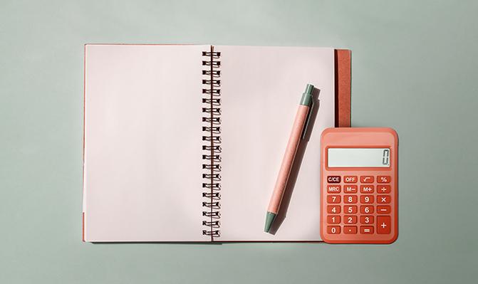 Pegue um papel, caneta e calculadora e comece a anotar.